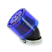 * Filtro de potencia Racing para quad Shineray 250cc STXE (44mm) AZUL