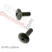 2 tornillos de carenado M6x20 para quad Shineray 250 ST6A