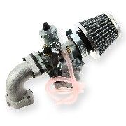 * Kit de carburador de 26mm PBR de 50cc a 125cc