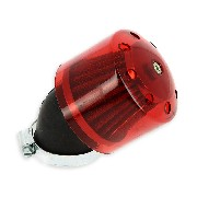 Filtro de aire racing para quad Shineray 250cc ST-9E (42mm) Rojo