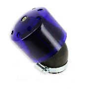 Filtro de aire racing para quad Shineray 250cc ST-9E (42mm) Azul