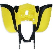 Carenado trasero Negro-Amarillo para quad Shineray 200cc STIIE