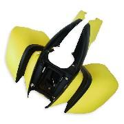 Carenado delantero Negro-Amarillo para Quad Shineray 200STIIE