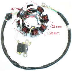 Estator para quad Shineray 200cc